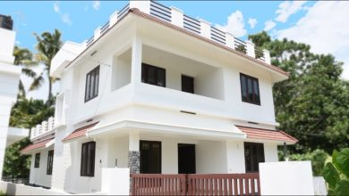 Photo of 2000 Sq Ft 4BHK Two Storey Modern Beautiful House at 6 Cent Plot