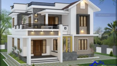 Photo of 2081 Sq Ft 4BHK Two-Storey Beautiful House and Free Plan