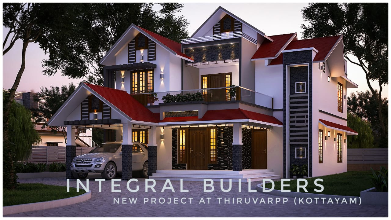2311 Sq Ft 4BHK Traditional Style Two-Storey House and Plan, 48 Lacks