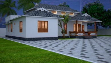 Photo of 2400 Sq Ft 2BHK Traditional Style Single Storey Nalukettu House and Free Plan