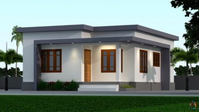 Photo of 650 Sq Ft 2BHK Modern Single-Storey House and Plan, Below 10 Lacks