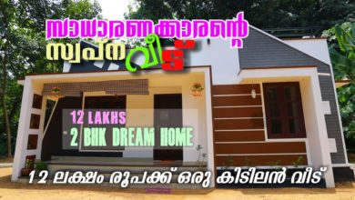 Photo of 750 Sq Ft 2BHK Modern Single-Storey House, 12 Lacks
