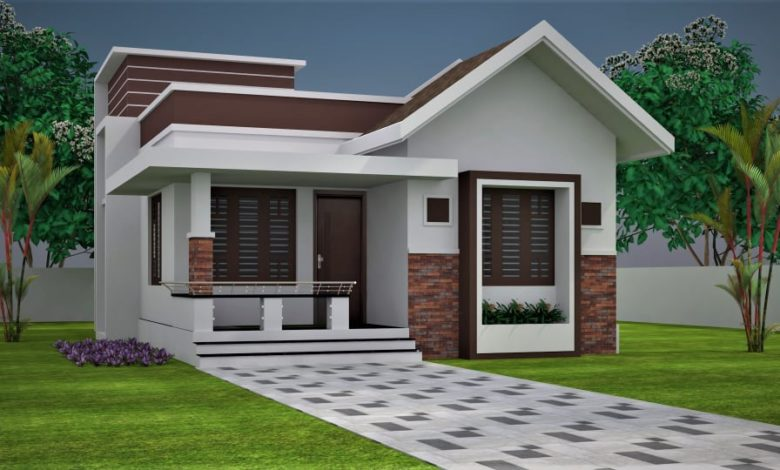 750 Sq Ft 2BHK Modern and Beautiful House and Free Plan, 10 Lacks