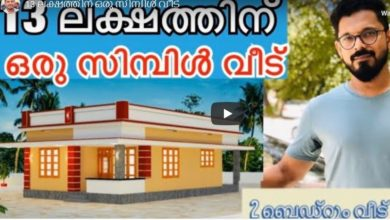 Photo of 750 Sq Ft 2BHK Simple and Beautiful House and Plan, 13 Lacks