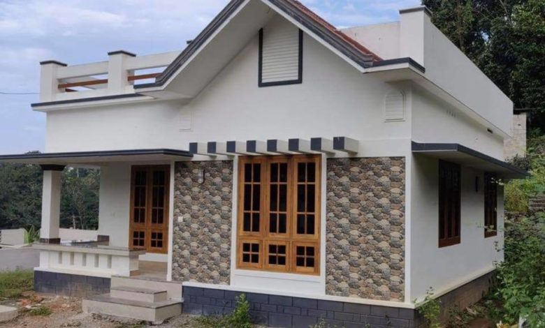 750 Sq Ft 2BHK Single Floor Low Budget House and Plan