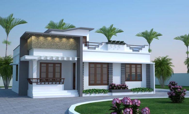 750 Sq Ft 2BHK Single Floor Modern House and Plan, Budget 11 Lacks