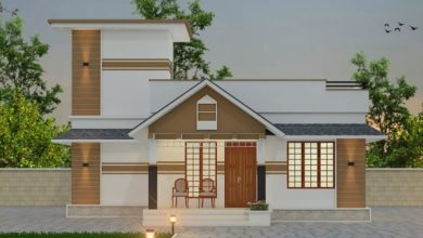 Photo of 827 Sq Ft 2BHK Traditional Style Single Storey House and Plan