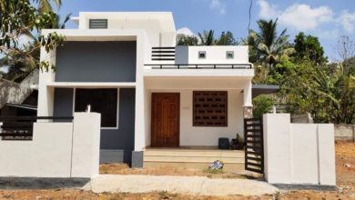 Photo of 950 Sq Ft 2BHK Simple and Beautiful Single Floor House and Free  Plan