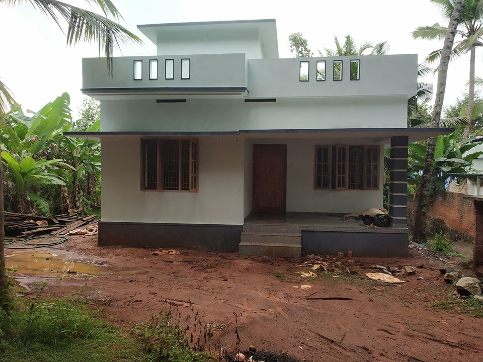 950 Sq Ft 2BHK Single-Storey House and Free Plan, 14 Lacks