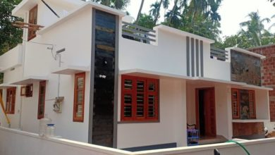 Photo of 1084 Sq Ft 3BHK Simple and Beautiful House and Free Plan