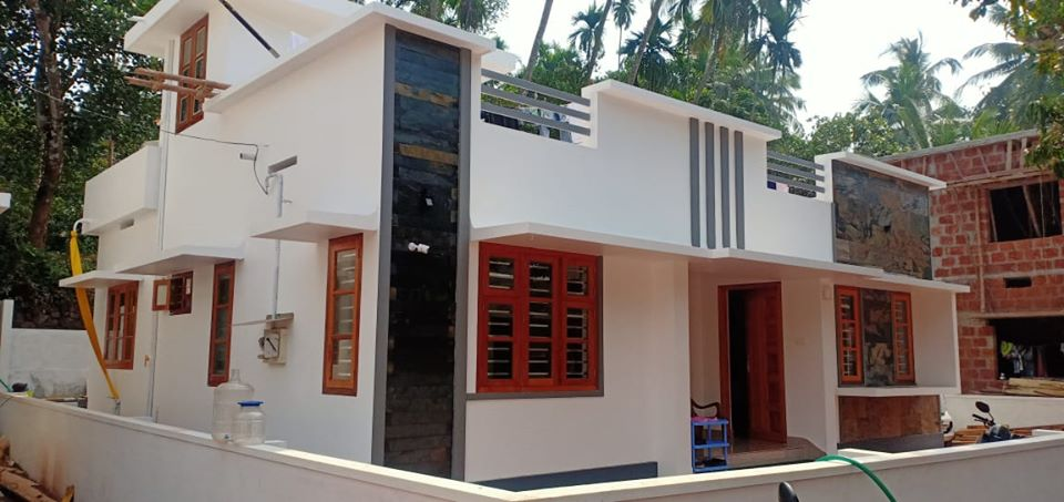 1084 Sq Ft 3BHK Simple and Beautiful House and Free Plan
