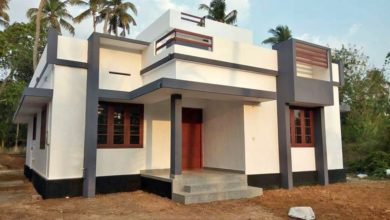 Photo of 1100 Sq Ft 3BHK Single Floor Low Budget House and Free Plan