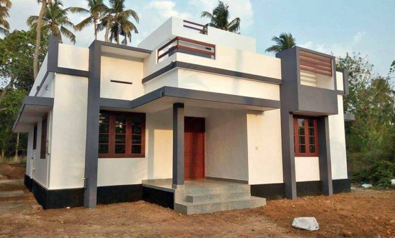 1100 Sq Ft 3BHK Single Floor Low Budget House and Free Plan