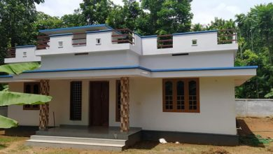 Photo of 1100 Sq Ft 3BHK Single-Storey Beautiful House and Free Plan