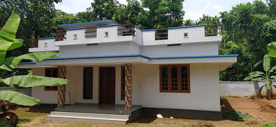 1100 Sq Ft 3BHK Single-Storey Beautiful House and Free Plan