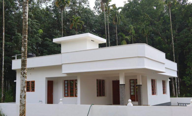 1150 Sq Ft 3BHK Single-Storey Beautiful House at 6.25 Cent Plot