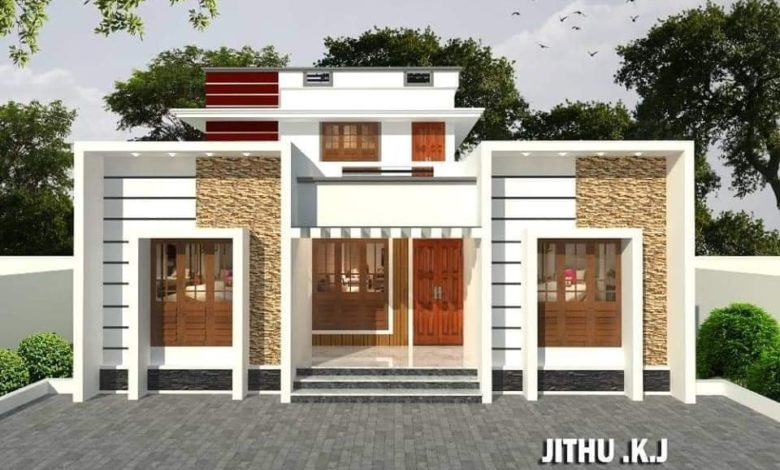 1600 Sq Ft 4BHK Modern Two-Storey House and Free Plan