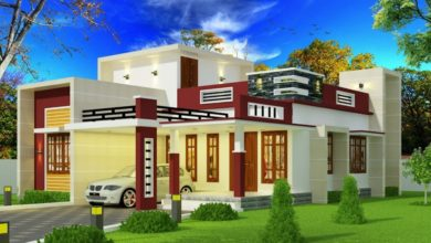 Photo of 1175 Sq Ft 2BHK Contemporary Style Single-Storey House and Free Plan