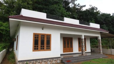 Photo of 1200 Sq Ft 3BHK Beautiful Single Floor House at 7 Cent Plot