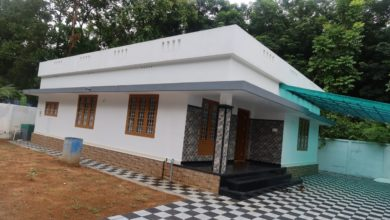 Photo of 1250 Sq Ft 3BHK Simple and Beautiful Single Floor House at 8 Cent Plot