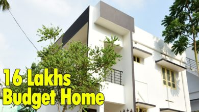 Photo of 1298 Sq Ft 3BHK Two Floor Modern House at 3 Cent Plot, Free Plan, 16 Lacks