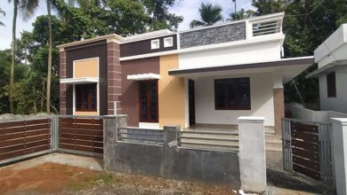 Photo of 1362 Sq Ft 3BHK Single-Storey Modern House and Free Plan