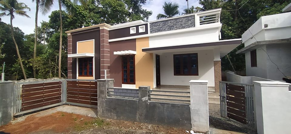 1362 Sq Ft 3BHK Single-Storey Modern House and Free Plan