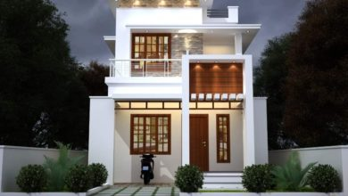 Photo of 1375 Sq Ft 3BHK Modern Two Floor House at 4.5 Cent Plot