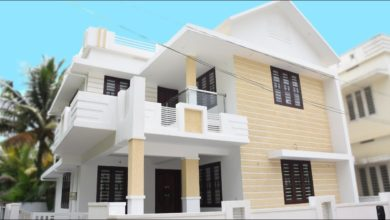 Photo of 1650 Sq Ft 3BHK Contemporary Style Two-Floor House at 4 Cent Plot