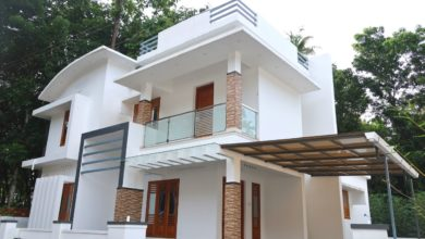 Photo of 1650 Sq Ft 3BHK Contemporary Style Two Floor House at 5.50 Cent Plot