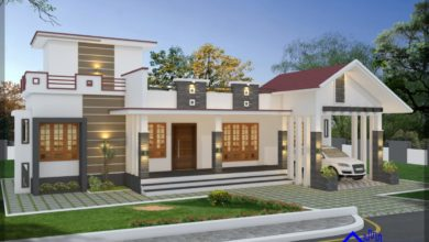Photo of 1694 Sq Ft 3BHK Traditional Mix Style Single-Storey House and Free Plan, 33 Lacks
