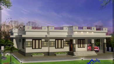 Photo of 1833 Sq Ft 4BHK Single Floor Modern House and Free Plan, 35 Lacks