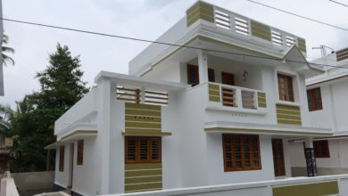 Photo of 1900 Sq Ft 4BHK Two-Storey Modern House at 5.75 Cent Land