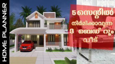 Photo of 1930 Sq Ft 3BHK Contemporary Style Two-Storey House and Free Plan