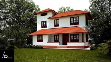 Photo of 2124 Sq Ft 5BHK Traditional Style Two-Floor House and Free Plan