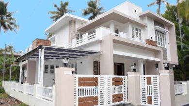 Photo of 2300 Sq Ft 4BHK Contemporary Style Two-Storey House at 6.5 Cents