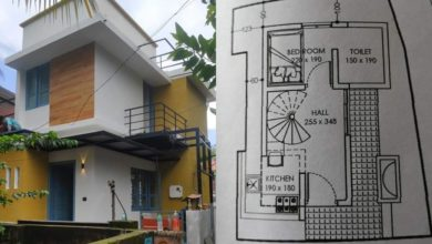 Photo of 450 Sq Ft 3BHK Two-Storey House at 1.25 Cent Land, Free Plan, Cost 8 Lacks