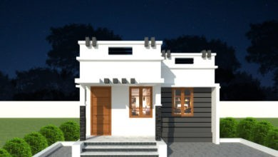Photo of 492 Sq Ft 2BHK Contemporary Low Budget House and Free Plan, 5 Lacks