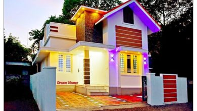 Photo of 700 Sq Ft 2BHK Contemporary Style Single Floor Beautiful House at 3 Cent Plot