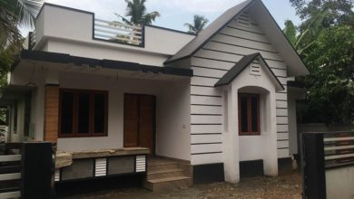 Photo of 750 Sq Ft 2BHK Modern Single-Storey House and Free Plan, 12 Lacks