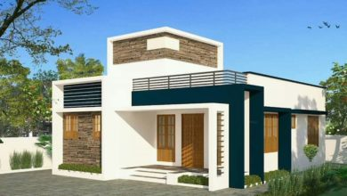Photo of 900 Sq Ft 2BHK Single-Storey Modern and Simple House and Free Plan