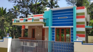 Photo of 900 Sq Ft 3BHK Single-Storey Modern House at 4 Cent Plot