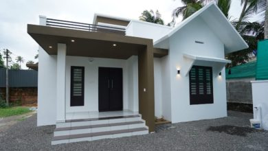 Photo of 950 Sq Ft 2BHK Contemporary Style Single-Storey House at 5 Cent Plot