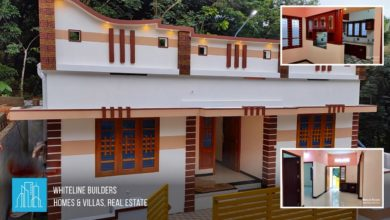 Photo of 950 Sq Ft 3BHK Single Floor Beautiful House at 4 Cent Land