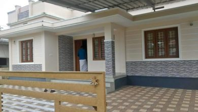 Photo of 980 Sq Ft 3BHK Simple and Low Budget House and Free Plan