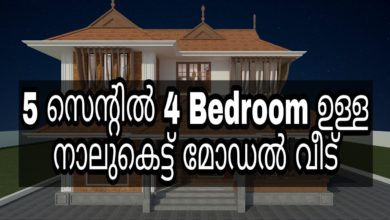 Photo of Traditional Style Nalukettu Model 4 Bedroom House at 5 Cent, Free Plan