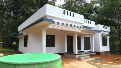 Photo of 1000 Sq Ft 3BHK Beautiful Single Floor House at 5 Cent Plot