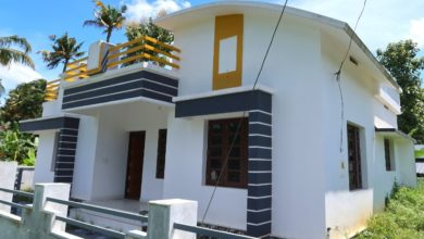Photo of 1000 Sq Ft 3BHK Modern and Beautiful Single-Storey House at 5 Cent Plot