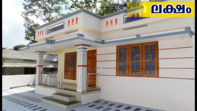 Photo of 1000 Sq Ft 3BHK Single Floor Low Budget House at 4.40 Cent .Plot