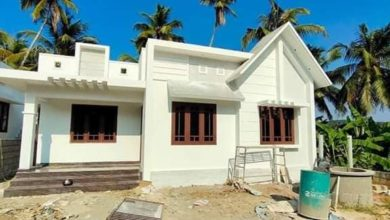 Photo of 1009 Sq Ft 3BHK Beautiful and Simple Single Floor House and Free Plan